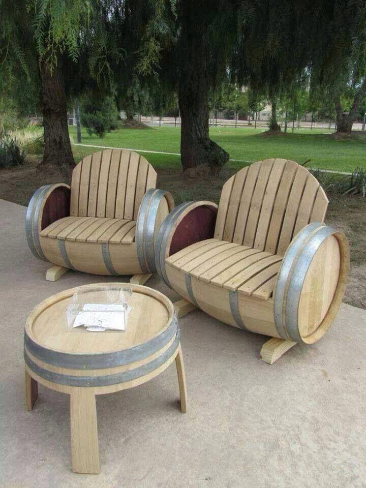Top 10 Creative Ways To Reuse Wine Barrels | RECYCLE!!!! | Tonneau ...