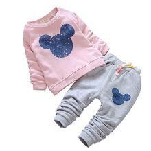 Casual Mickey set for babies / Conjunto casual de Mickey para bebés