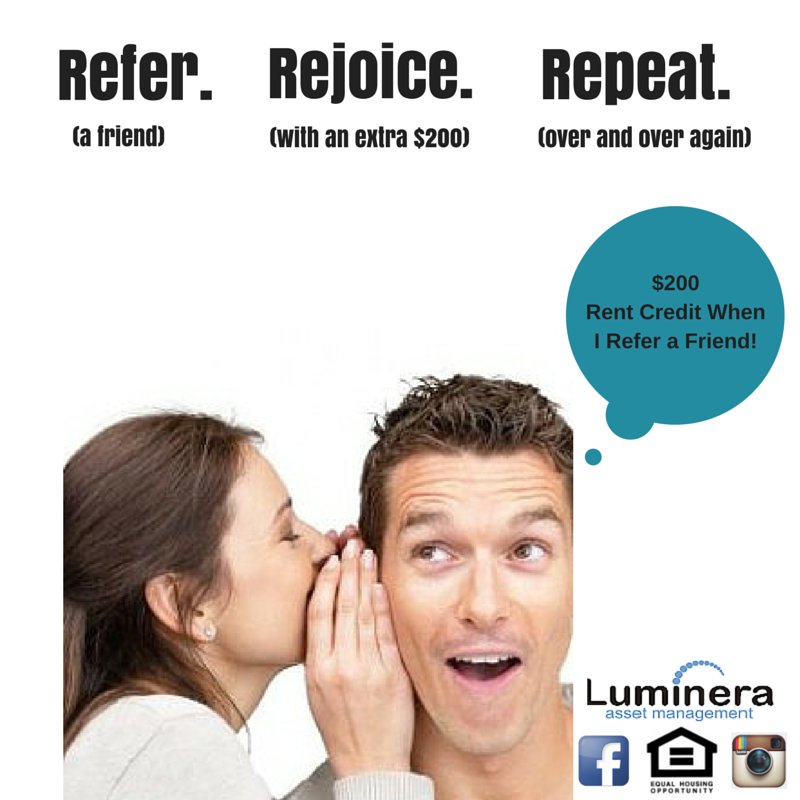 resident referral flyer