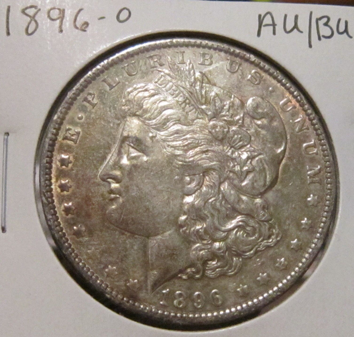 1896-O MORGAN SILVER DOLLAR AU / BU RARE HIGH GRADE KEY DATE US SILVER COIN!!!!! https://t.co/bb2SGwJwzn https://t.co/edkDkwEq0k
