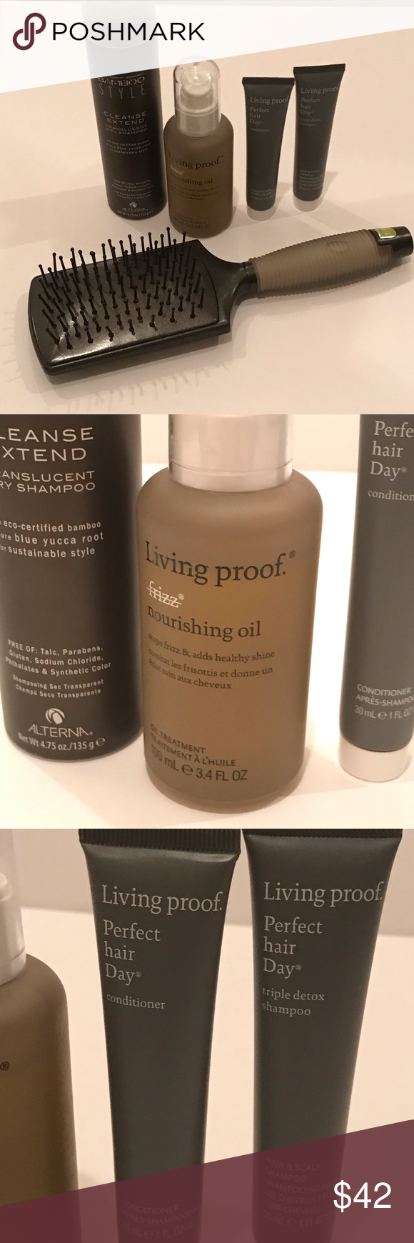 Living Proof 3pc Alterna Cleanse Extend Spray Frizz Free Sephora Makeup Frizz Free Hair