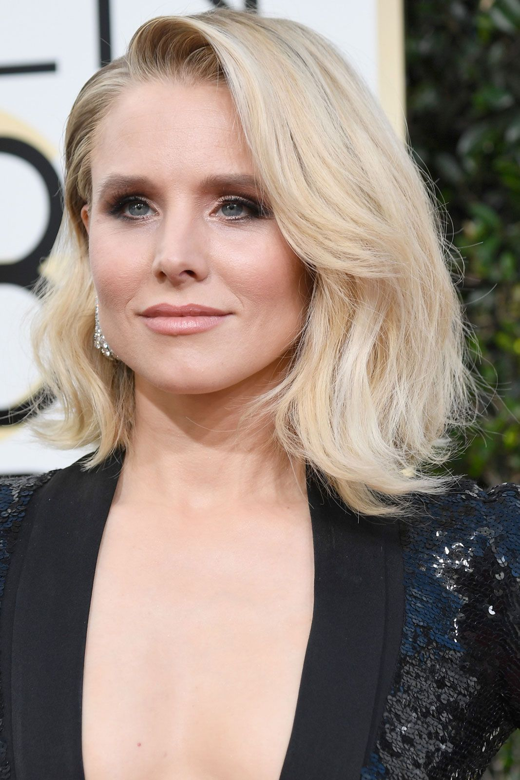 The Best Beauty Looks From The Golden Globes  Hair trends Lob and