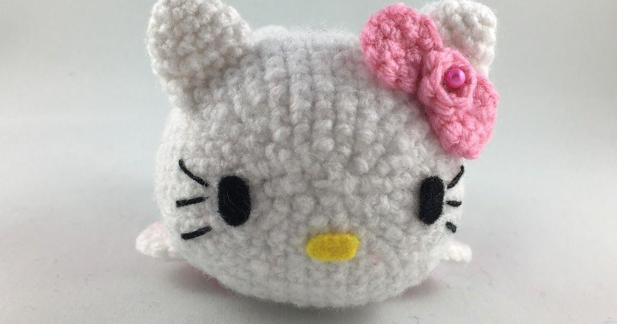 Tsum Tsum Amigurumi Pattern Free : Crochet your own hello kitty tsum tsum free pattern available