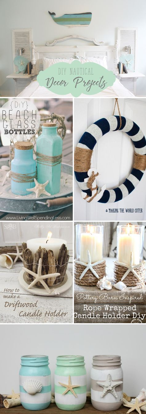Photo of 30 DIY Nautical Decor Projects Bringing the Beach To your Home