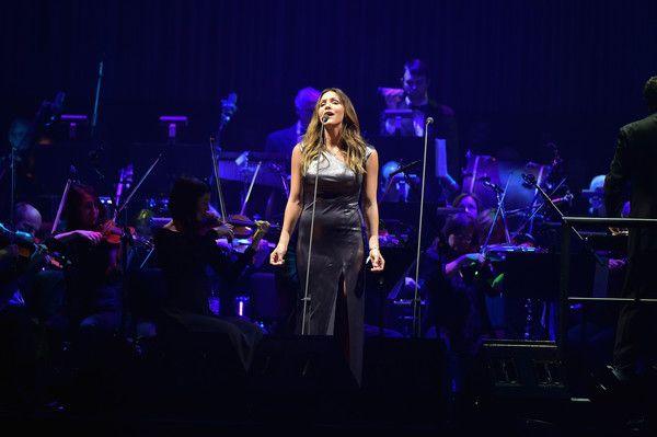 Katharine McPhee Photos Photos: Andrea Bocelli Performs In Concert   New  York, New York. Madison Square GardenKatharine ...