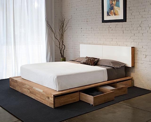 10 Easy Pieces: Essential Wooden Beds   English walnut, Platform ...