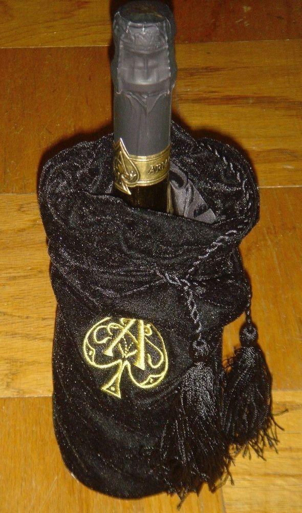 Armand de Brignac Brut Gold Ace of Spades Black Velvet Bag Mint New Full Sealed #AceofSpades