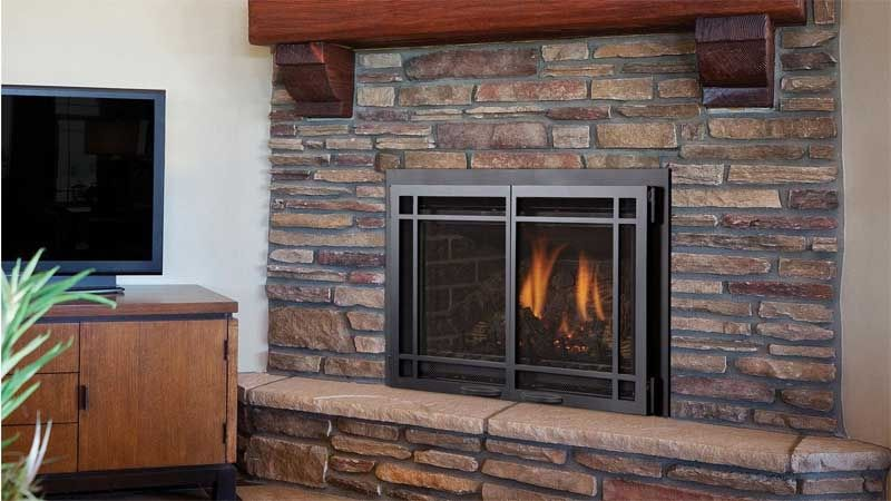 Chaska 25 Fireplace Craftsman Living Rooms Patio Fireplace