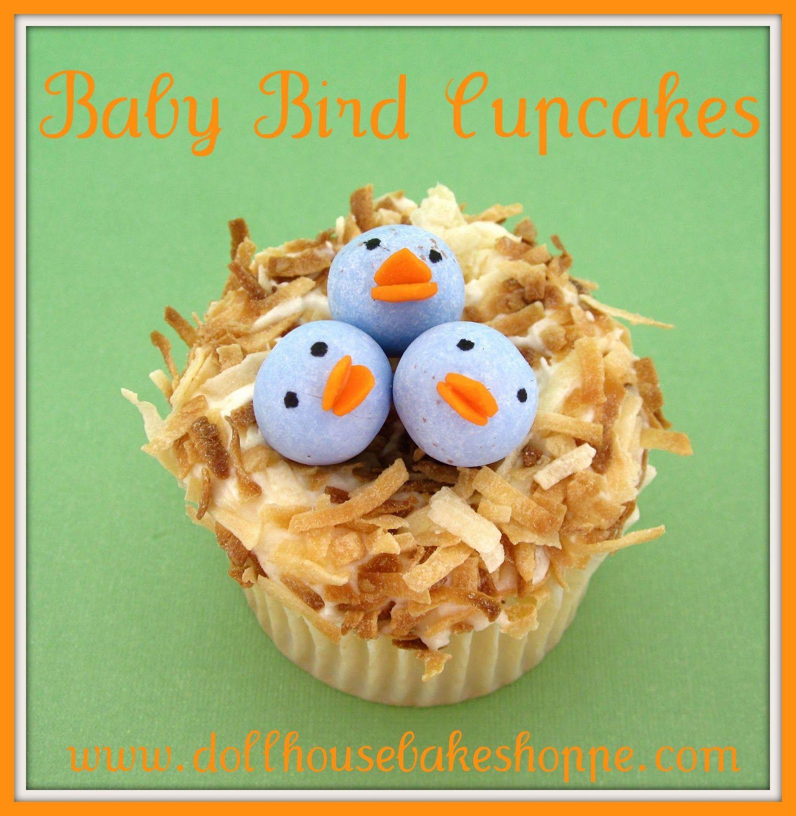 Lindsay Ann Bakes: Baby Bird Cupcakes