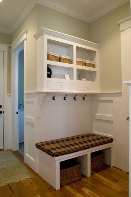 Small Mud Rooms | Small mud room | Decorating/Furniture