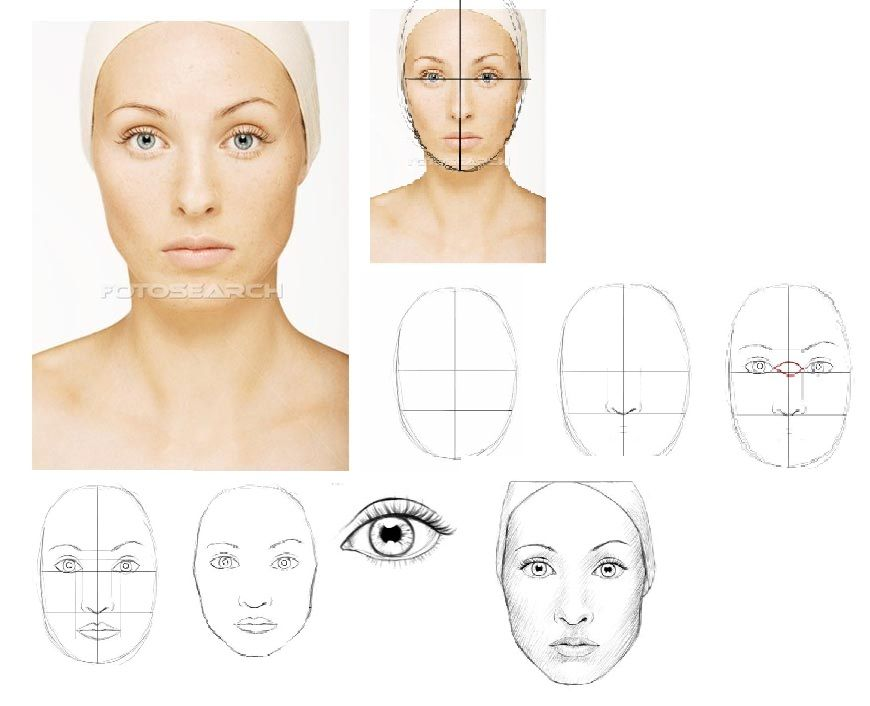 Goede Hoe teken je een gezicht | Gezichten tekenen, Geschilderde BY-12