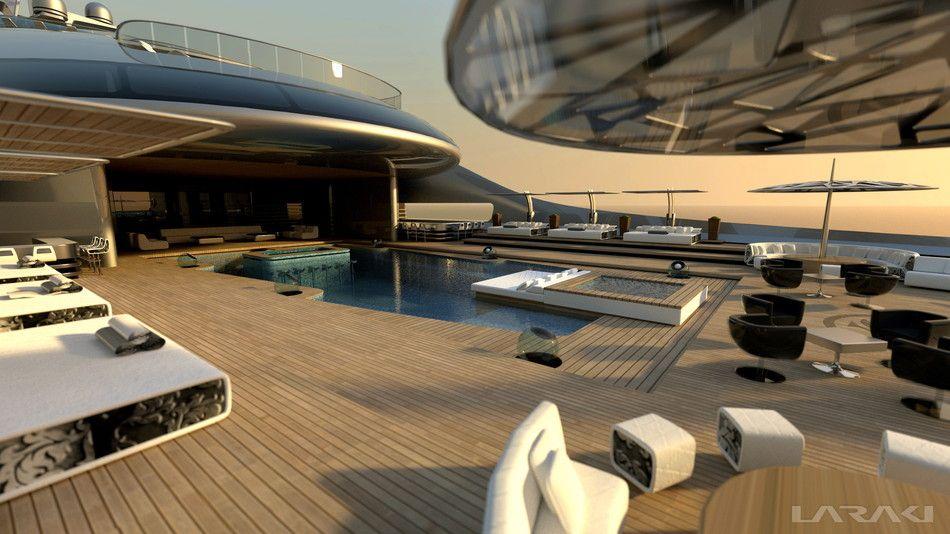 Prelude Yacht Gigayacht Konzept Prelude Laraki Yacht Design