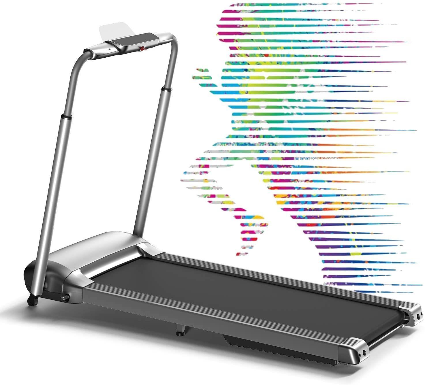 Wekeep Folding Portable Treadmill Manual Compact Walking Running Machine Workout Electric Desk Treadmills For Small Portable Treadmill Electric Desk Treadmill