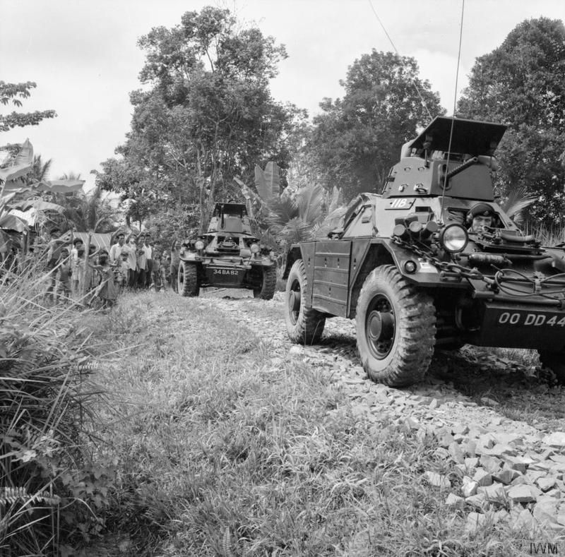 H Squadron, 5 Royal Tank Regiment, during operations in