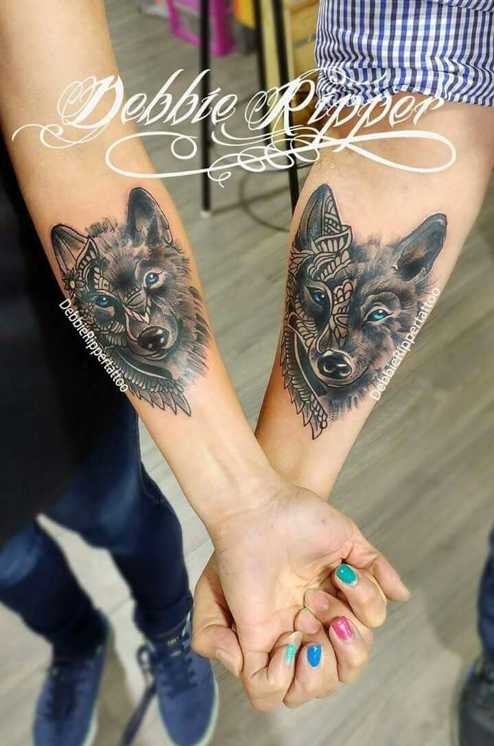 Pin By Oscar On C Couple Tattoos Tattoos Wolf Tattoos