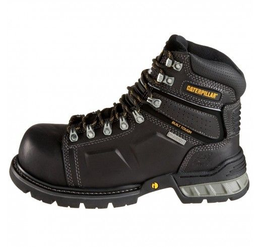 95c0cf3c8c Bota Caterpillar Cat Men's Endure 6 Superduty Waterproof Steel Toe Boot  Black