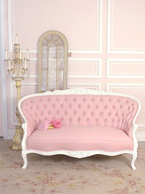 Once Again I Love White Furniture This Shade Of Pink Not So