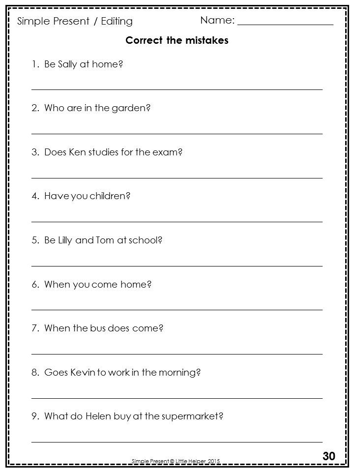 esl present simple negative worksheet - Google Search | Curves ...