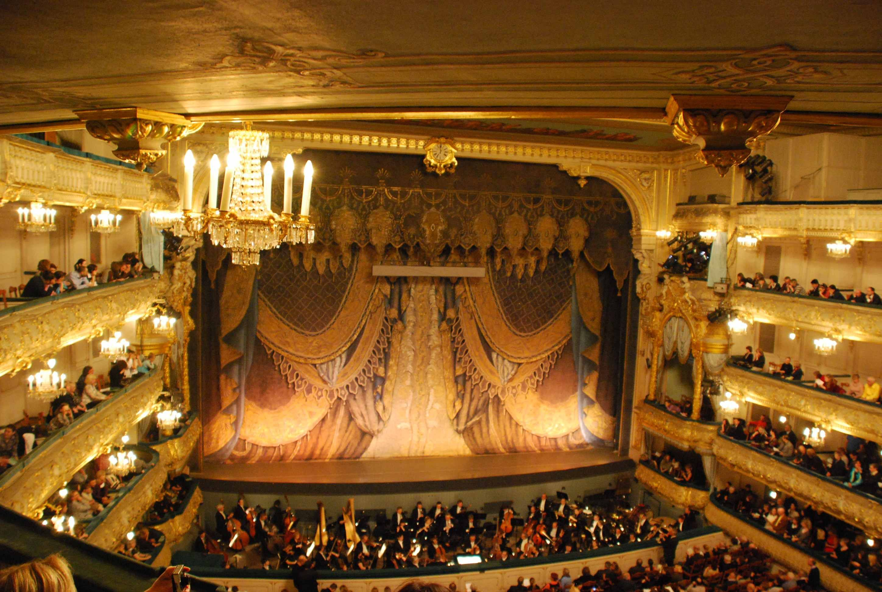 the mariinsky theatre, can't even imagine what it would be ...