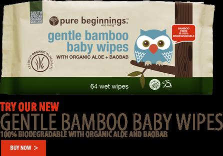 bum cream and baby wipes