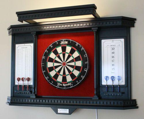 Snyper Games Custom Dartboard Cabinet KC 05 LH | EBay