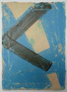 Aftermath, 2012, acrylic on canvas, Terry Greene
