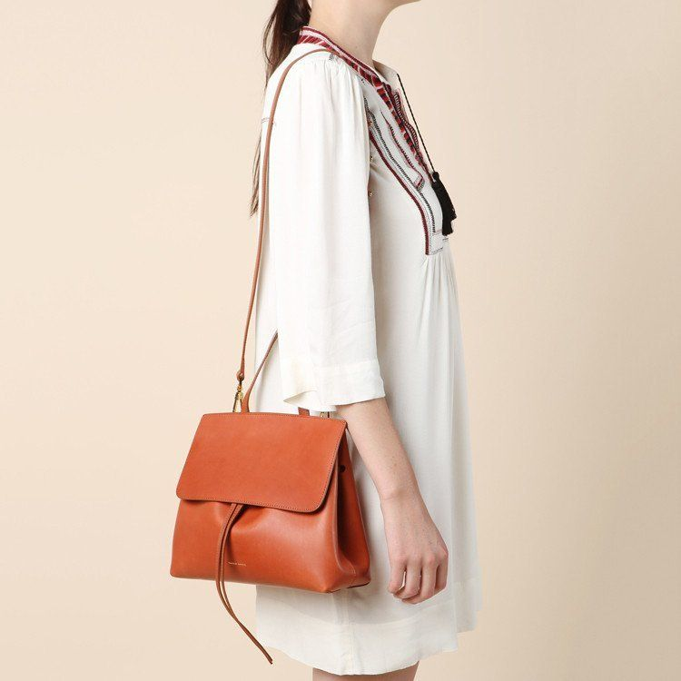 Fancy - Brandy Brick Mini Lady Bag by Mansur Gavriel  857ed8884b5c6