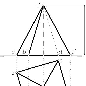 Representacion Piramide Piramide Geometria Tecnicas De Dibujo