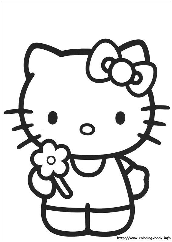 Hello Kitty flower | birthday cakes | Pinterest | Windowcolor ...