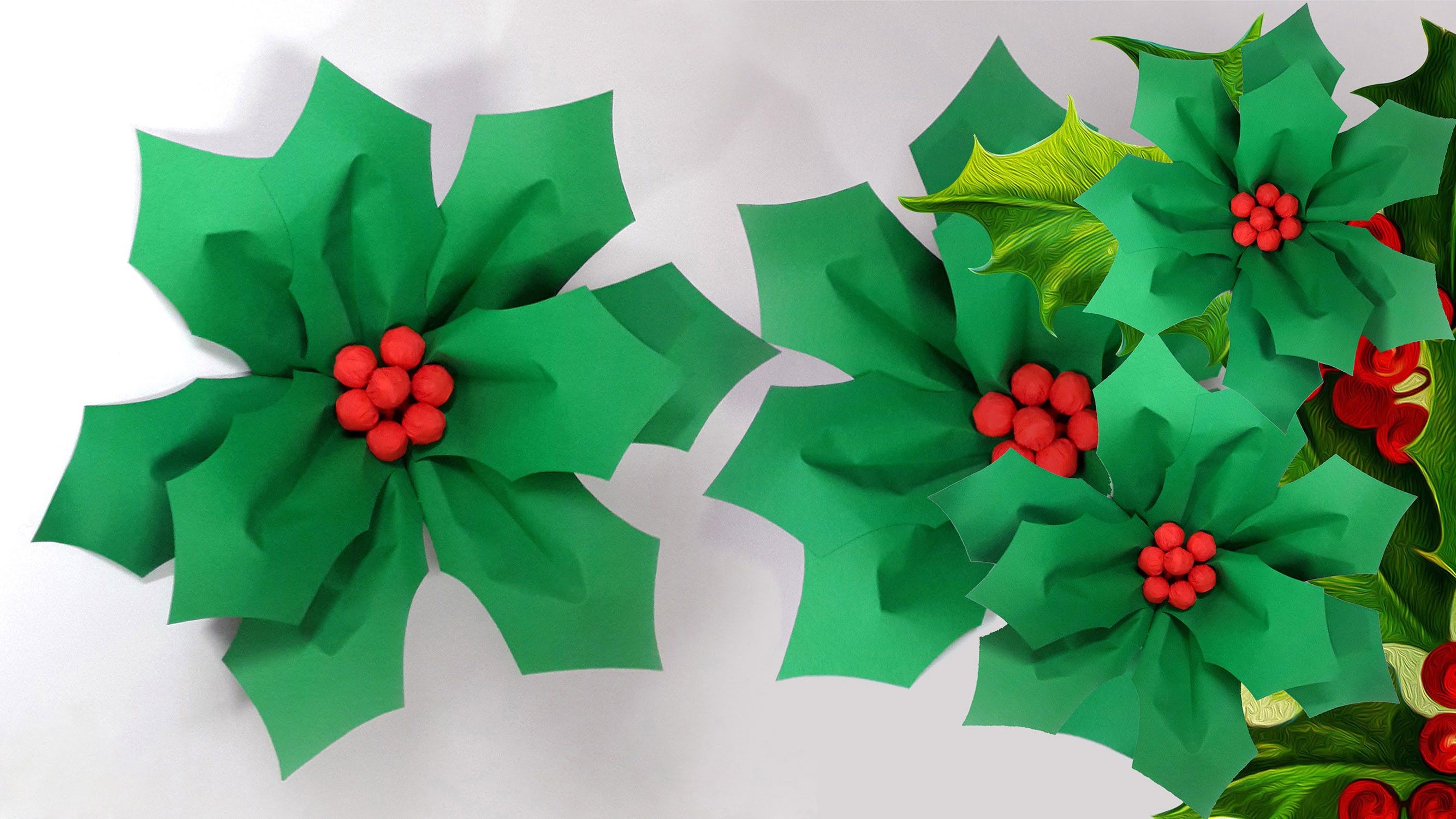 Easy Christmas Paper Craft | Christmas Paper Crafts, Christmas Paper And  Craft