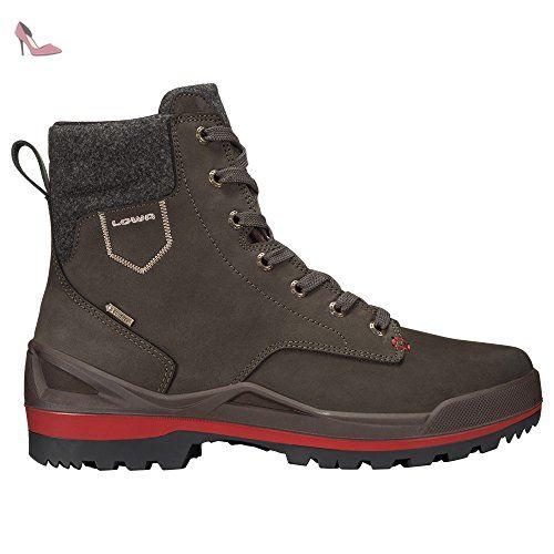 Lowa , Chaussures de randonnée Lowa Oslo GTX Mid Marron