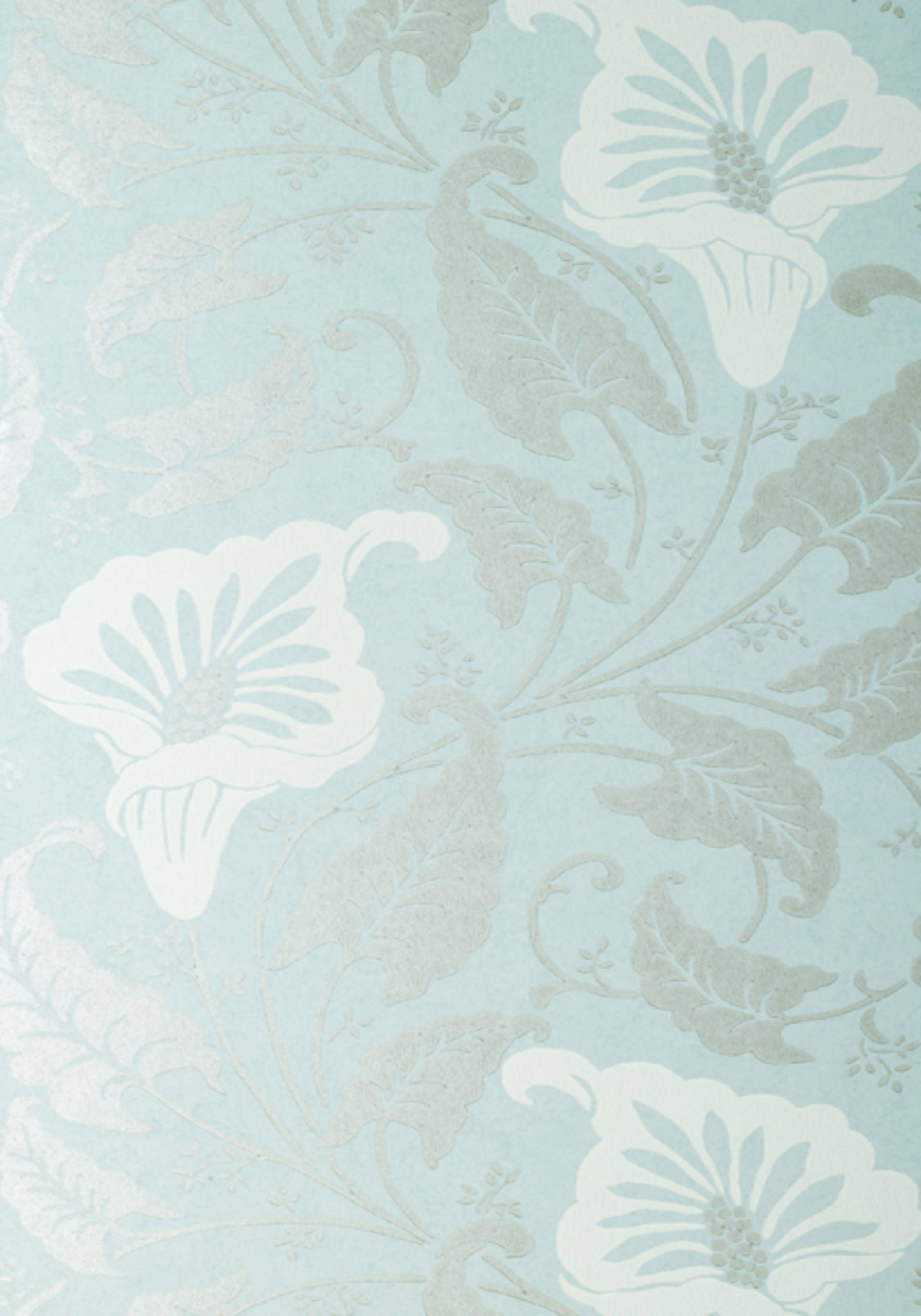 LAVINIA, Light Silver on Pale Blue, AT10040, Collection