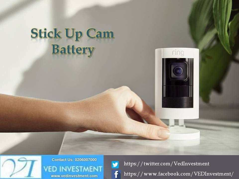 Stick Up Cam Battery 1 500 Regular Price Battery Powered Indoor Outdoor Hd Camera With Two Way Talk Night Vision A Siren And Versatil Solar Panels For Home