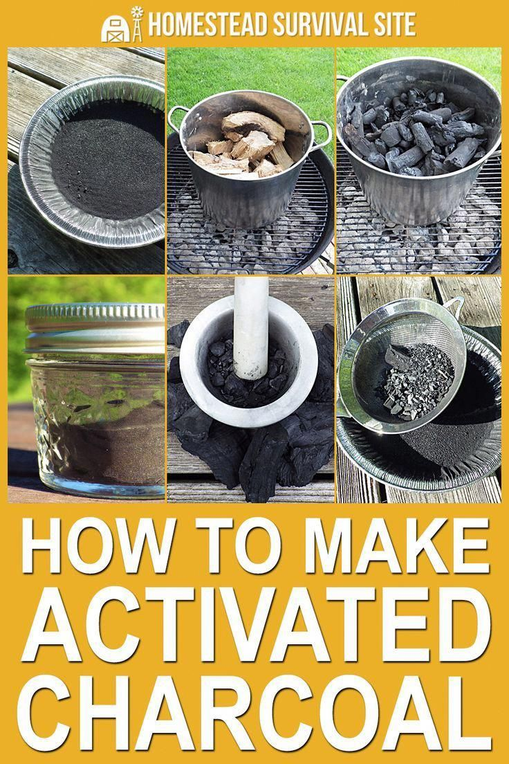Yes, you can make activated charcoal at home, but it's a