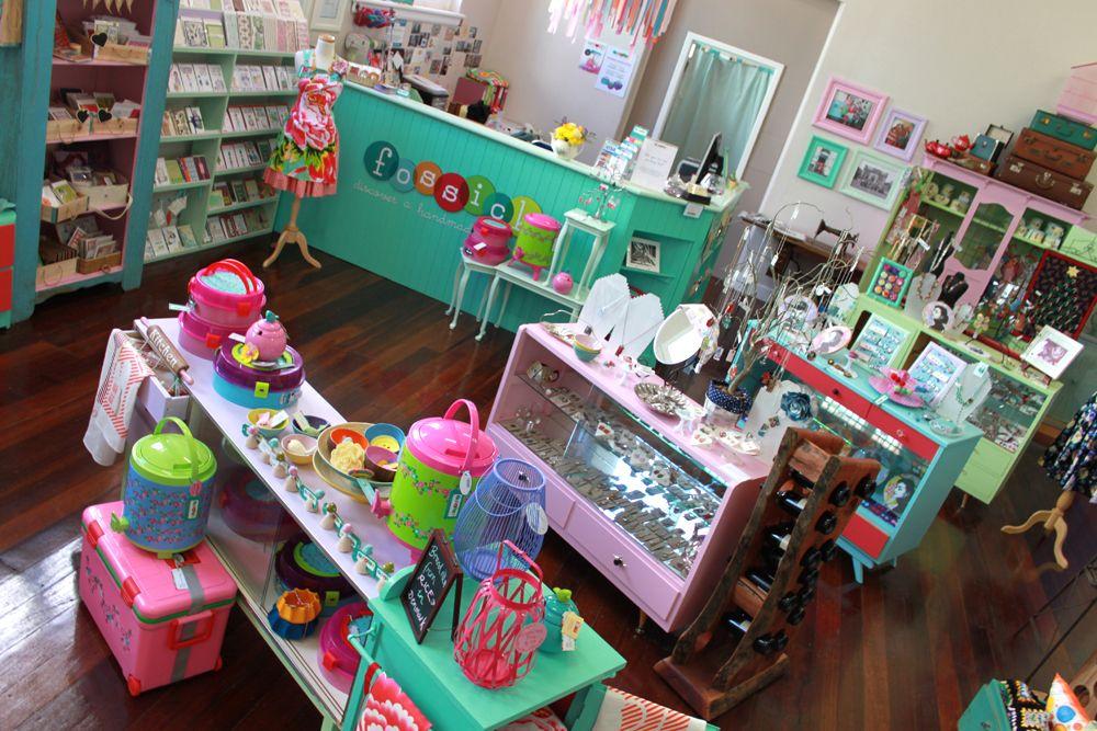 Fossick Handmade Gift Shop Art Gallery Store Displays