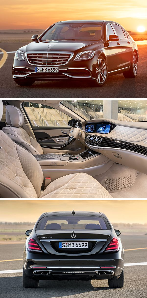 Taking premium to the next level, the Mercedes-Maybach S-Class.