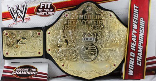 WWE World Heavyweight Wrestling Championship Title Belt TOY