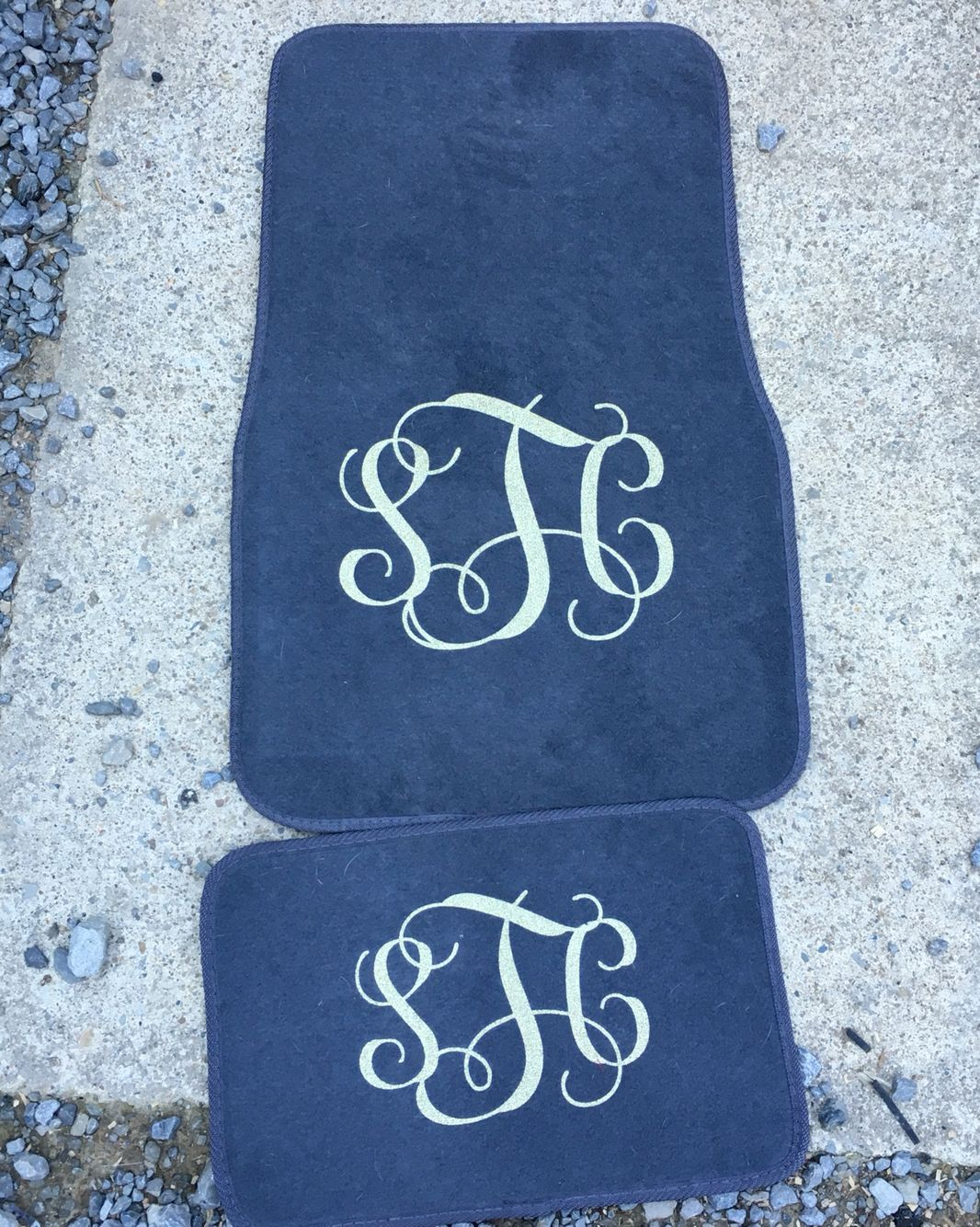 Floor mats us - Monogram Floor Mats Made By Taylormadecreations Follow Us On Etsy Taylrmadecreation And On Instagram