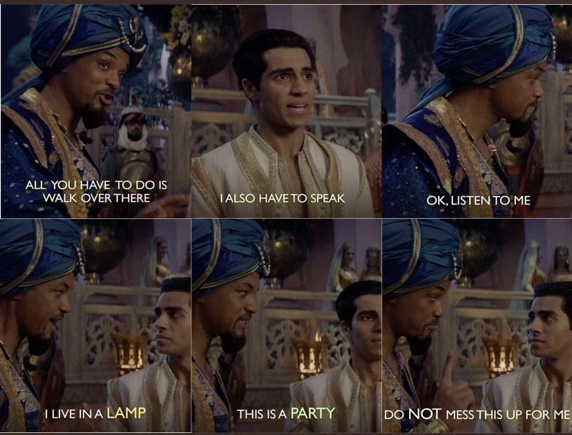 Aladdin 2019 Quote Mena Massoud And Will Smith Menamassoud