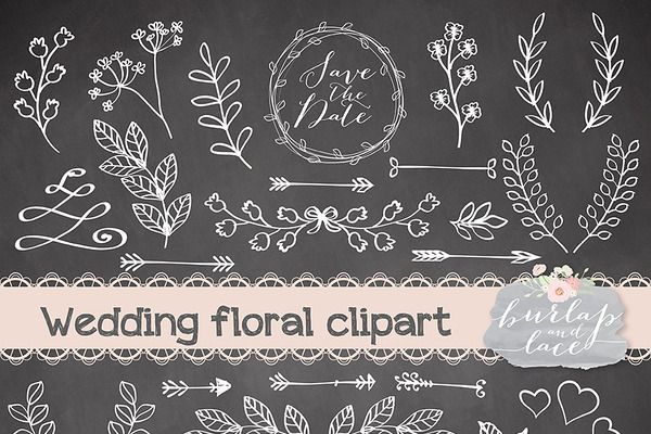 Rustic wedding clipart | Vector doodles | Pinterest ...