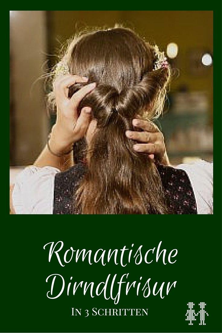 romantische dirndlfrisur - trachtenbibel | dirndl frisuren