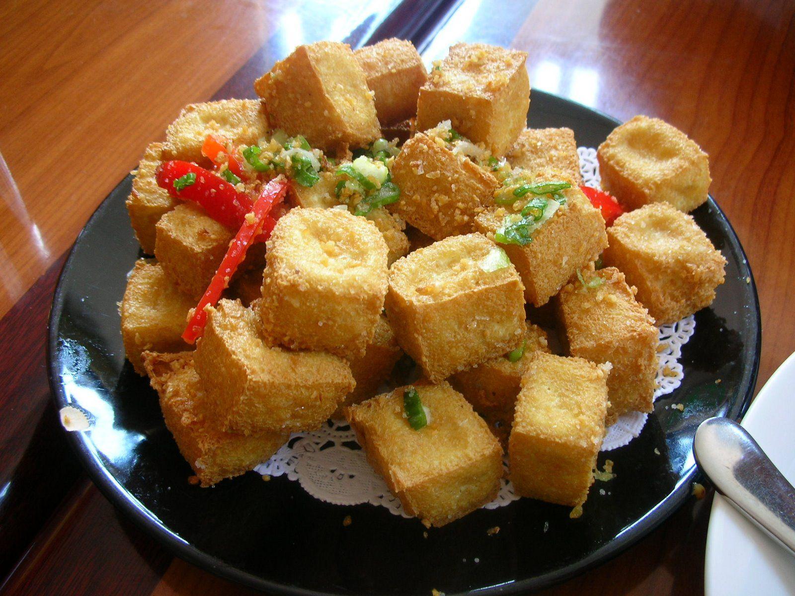 Japanese Recipes Deep Fried Tofu Agedashi Tofu Savory Snacks Food Fried Tofu