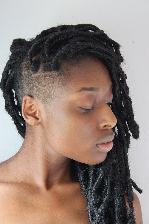 Natural Hair Faux Loc Hair