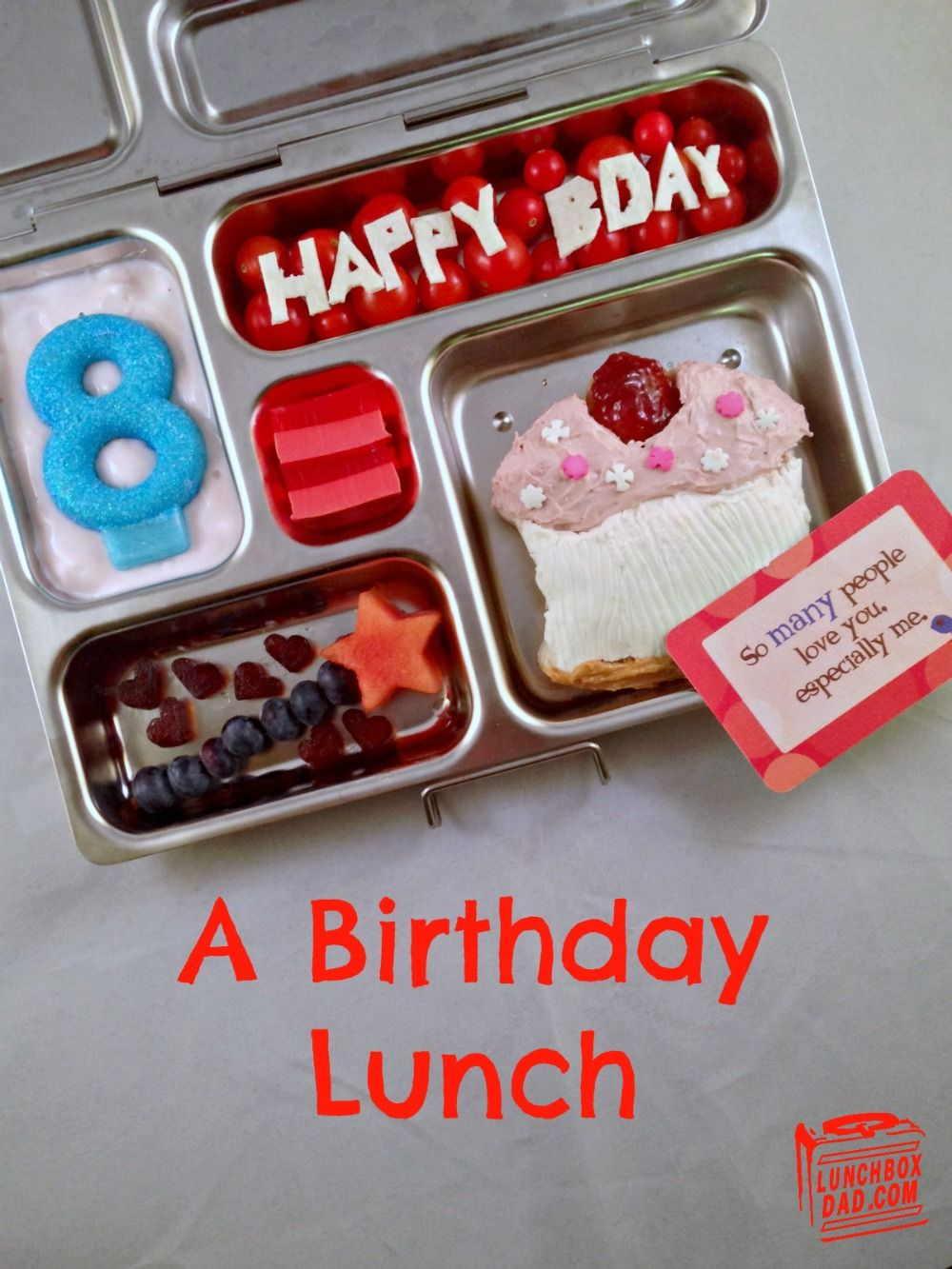 A Birthday Party Lunch | Play With Your Food | Pinterest ...