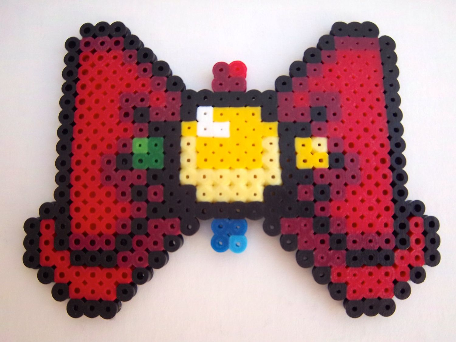 """Sailor Moon Crystal """"Moon Prism"""" Bow perler beads by CorsPlasticSmores"""