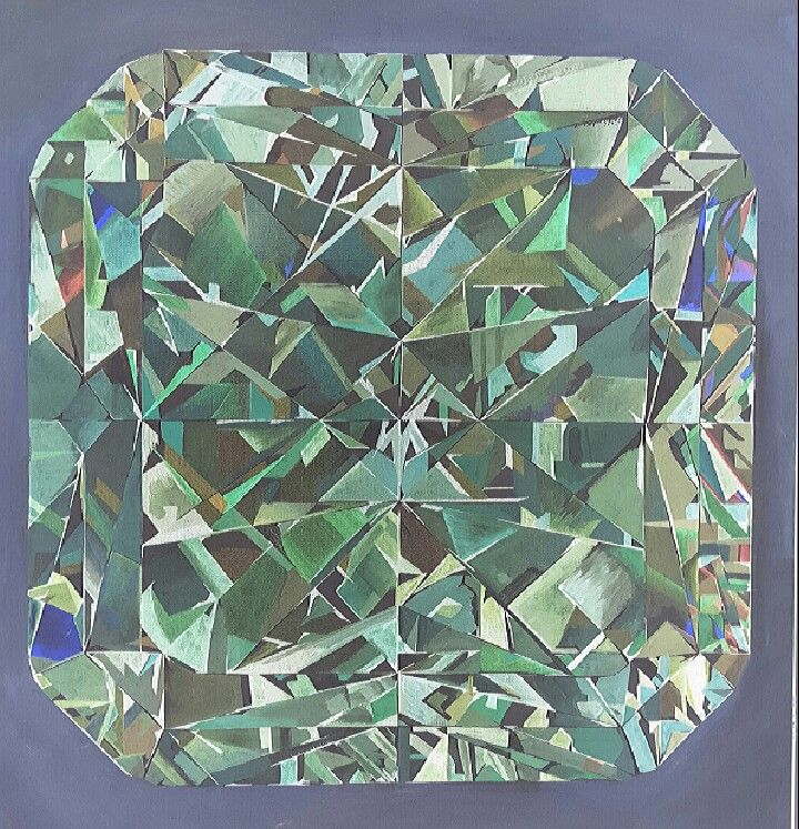 Diamond painting beginner level