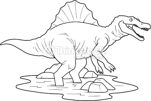 picture which depicts Spinosaurus | espinosaurio | Pinterest