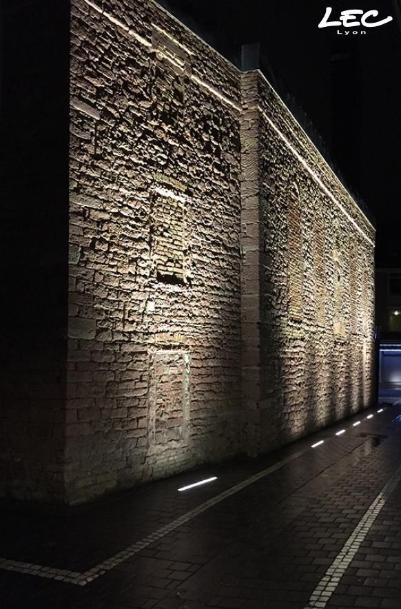 Sinagoga Alte Mauer V Offenbah Exterior Lighting Facade Lighting Landscape Lighting Design