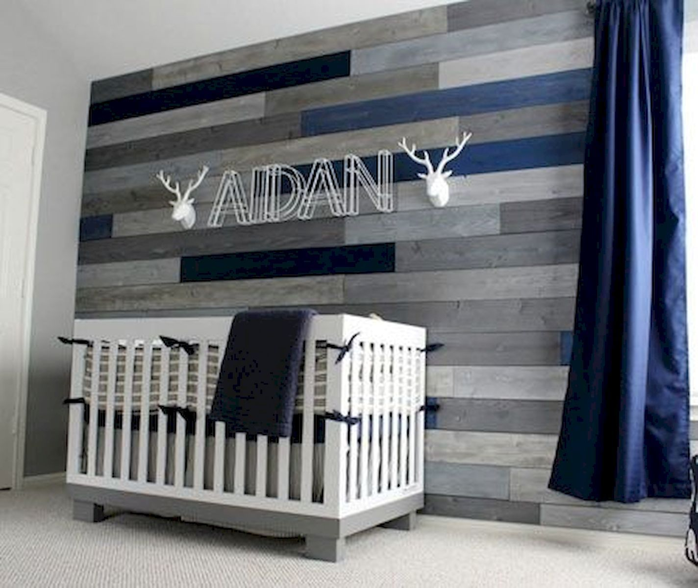 40 Adorable Nursery Room Ideas For Baby Boy images