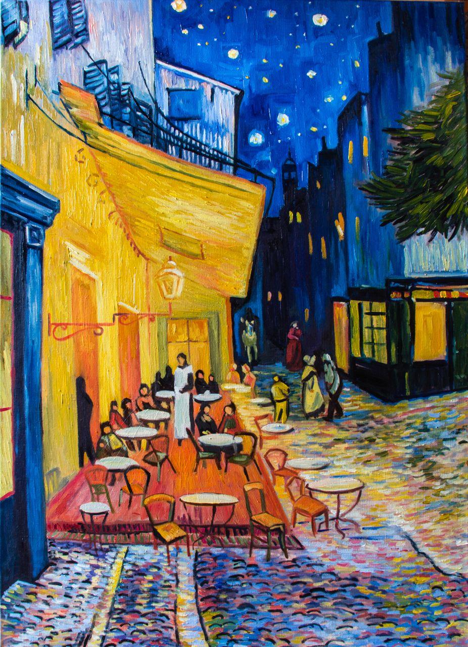 каждый картина ван гога ночная терраса кафе рецепте бисквита